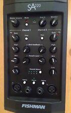 FISHMAN SA 220 Solo Amp - Mint in original box! PA system come nuovo per Live.
