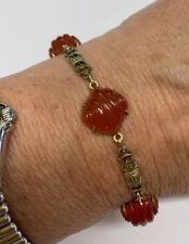 Antique 14k Carnelian Bracelet