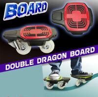 NEU *** DOUBLE DRAGON BOARD Skateboard Waveboard FREESTYLE Skate Wave *** NEU