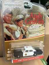 Greenlight  HOLLYWOOD  Andy Griffith Show 1967 Ford Custom Police Car