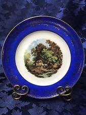JKW Bavaria Cabinet Collector Plate Artist Signed JC Van Hunnik