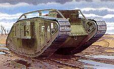"EMHAR Modelo Tanque Kit, Mark. IV Tanque Primera Guerra Mundial ""Hembra"", EM4002, escala 1-35"