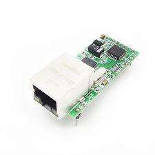 Ethernet to RS232 Serial port TTL TCP/IP RJ45 Converter Transmission module WFR