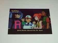 EP15 Battle Aboard St. Anne Foil Holo 2000 Topps Pokemon Series 2 Episode Card