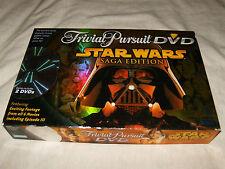 STAR WARS Trivial Pursuit Saga Edition DVD Board Game