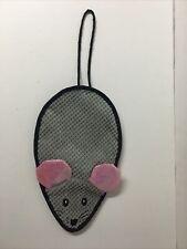 New listing Door Hanger Cat Nip Mouse Cat Toy Scratcher Christmas Gift