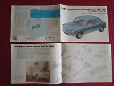 N°4034 / catalogue BMC berline Austin 1800 Hydrolastic   Francais