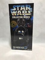 "1997 Kenner Star Wars Collector Series TIE FIGHTER PILOT 12"" Action Figure"