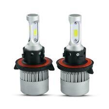 2X H13 9008 COB LED Headlight Super Bright Bulbs Kit 2600W 390000LM HI-LO Beam