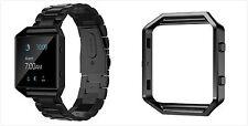 23 mm Wrist Band Watch Strap Bracelet For Fitbit Blaze Men Women Stainless Steel