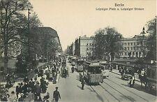 A Busy Day, Leipziger Platz u. Leipziger Strasse, Berlin Germany