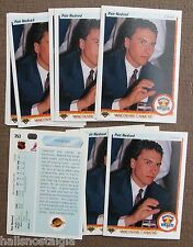 1990/91 Upper Deck Hockey #353 Petr Nedved Rookie (Lot of 11 Cards) Most NM/MT