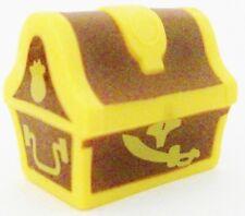 TREASURE CHEST Disney Junior JAKE NEVER LAND PIRATES PVC TOY Figure CAKE TOPPER!