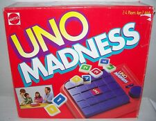 Mattel ©1995 UNO MADNESS  An explosive Game! COMPLETE