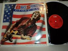 "BRUCE SPRINGSTEEN GLORY DAYS + 3 TRACKS UK CBS TA 6375 12"" 45 LP EX NICE!"