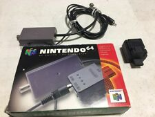 NINTENDO 64 RF SWITCH MODULATOR WITH BOX NICE SHAPE N64 n 64 NES HQ