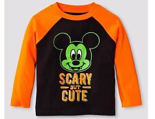 NEW 12m VAMPIRE MICKEY MOUSE SCARY BUT CUTE Halloween T-ShiRT Disney.