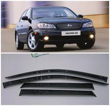 For Nissan Maxima A33,A32 1994-2005 Window Visors Sun Rain Guard Vent Deflectors