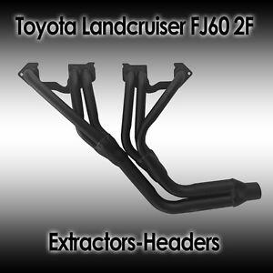 Toyota Landcruiser FJ62-70-73-75-80, 4.0L 3F 1984-1992 Petrol, Extractor/header