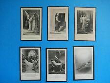 LOT 6 IMAGES PIEUSES SOUVENIR MEMOIRE DECES MODELES  THFR