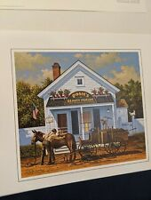 BEAUTY AND THE BEAST By Charles Wysocki. Limited Edition Print. MINT