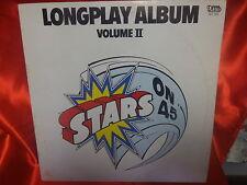 LP 33 g. -    Stars On 45 – Longplay Album (Volume II)  Italy 1981