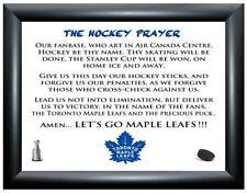 HOCKEY PRAYER PICTURE - Toronto Maple Leafs (FRAME NOT INCLUDED) MATTHEWS/KADRI