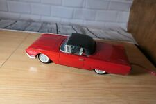 Ko Ford Battery Operated Red Convertible Thunderbird W. Working Retractible Roof