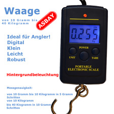 Waage Digital Angelwaage Zugwaage  Hängewaage Anglerwaage Fischwaage Kofferwaage