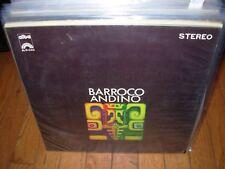 BARROCO ANDINO self titled ( world music ) chile alba 40