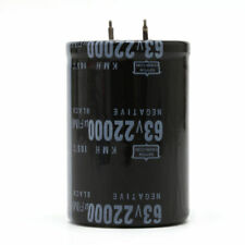 63V 22000UF Aluminum Electrolytic Capacitor 105°C Dimension 35x50mm Cylindrical