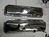 65-66 CHEVELLE AND Z16 CHROME BIG BLOCK VALVE COVERS 427 396 Z-16