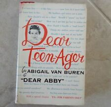 Vintage Dear Teen-Ager by Abigail Van Buren Dear Abby Book 1959