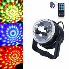 Calming Autism Sensory LED Lights Toy Projector Rotating Crystal Ball ADHT