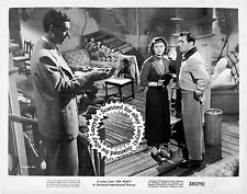 Lot of 2, Howard Duff, Marta Toren, Philip Friend stills SPY HUNT (1950) vintORG
