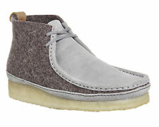 Clarks Originals Mens ** Wallabee Boot Dark Grey Felt ** UK 6.5,9,9.5,10,13 G