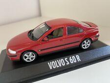 Minichamps '03 Volvo S60 R in Passion-Redmetallic 1/43 OVP - Werbemodell selten