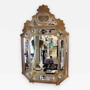 Venetian Estate Mirror by Fratelli Barbini of Murano