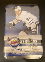 2019/2020 Upper Deck Series Two Hockey Tin Box...Look For Young Guns!!!