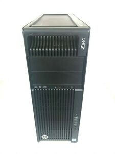 HP Workstation Z640 MT Xeon E5-2620V3 2.4GHz 16GB RAM 1TB SSD 2TB HDD Win 10 Pro
