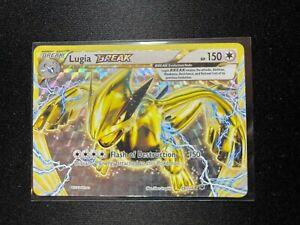 Lugia Break - 79/124 - Break Rare XY: Fates Collide Played Pokémon Card