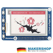 Waveshare 264x176 2.7inch E-Ink Display HAT Raspberry Pi 3 Farbe - 13357