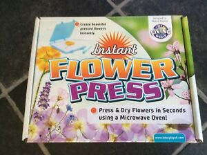 Instant Flower Press. Used Once.