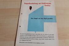 144572) Rabewerk Schälpflug Gimpel - Fink - Prospekt 07/1965