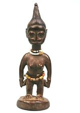 Art Africain - Ancien Ibeji Yoruba Yorouba - Pièce d'Utilisation Tribale - 23Cms