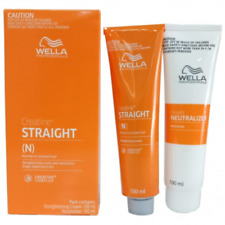 Wella Wellastrate Straight System Permanent Hair Straightening Cream Resistant