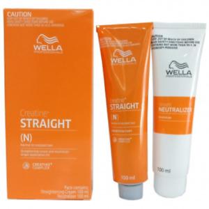 Wella Wellastrate Straight System Permanent Hair Straightening Cream Resistant
