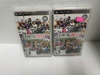 Pro Evolution Soccer PES 2014 PSP Rare Brand New North America 1 game only! A6