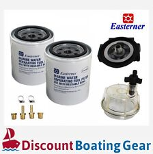 EASTERNER Marine Fuel Filter with Clear Bowl, Complete Boat Kit, SPARE FILTER