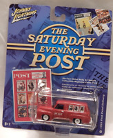 Johnny Lightning Saturday Evening Post 1955 Ford Panel Delivery Truck White Hubs